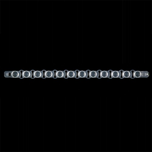 0.2ml 12-Strip Flat Optical Caps (80 p.)