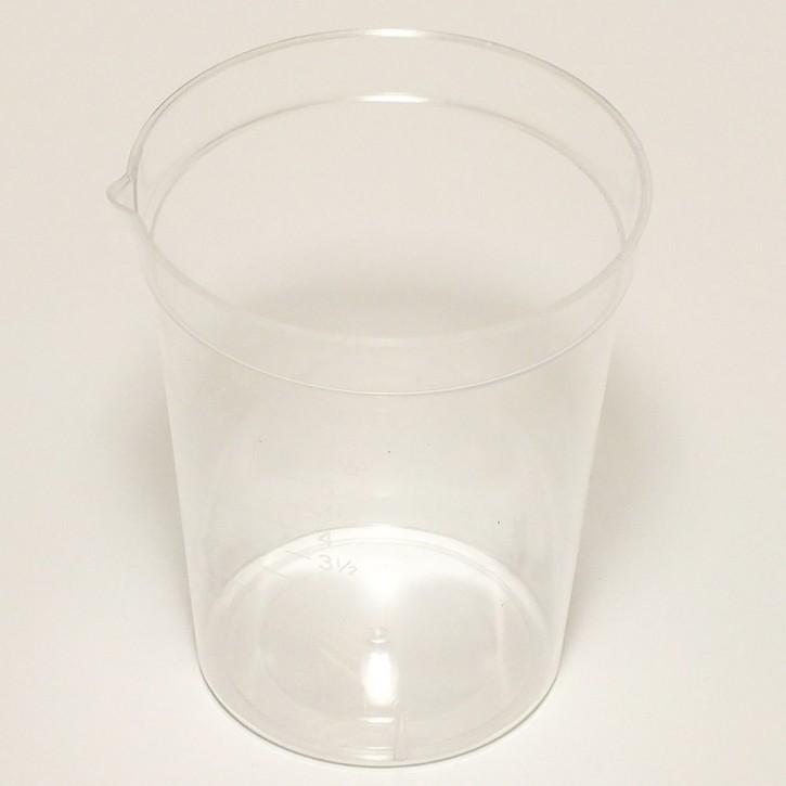 180ml Beaker PS Graduated 25/Sleeve Non-Sterile (500p.)