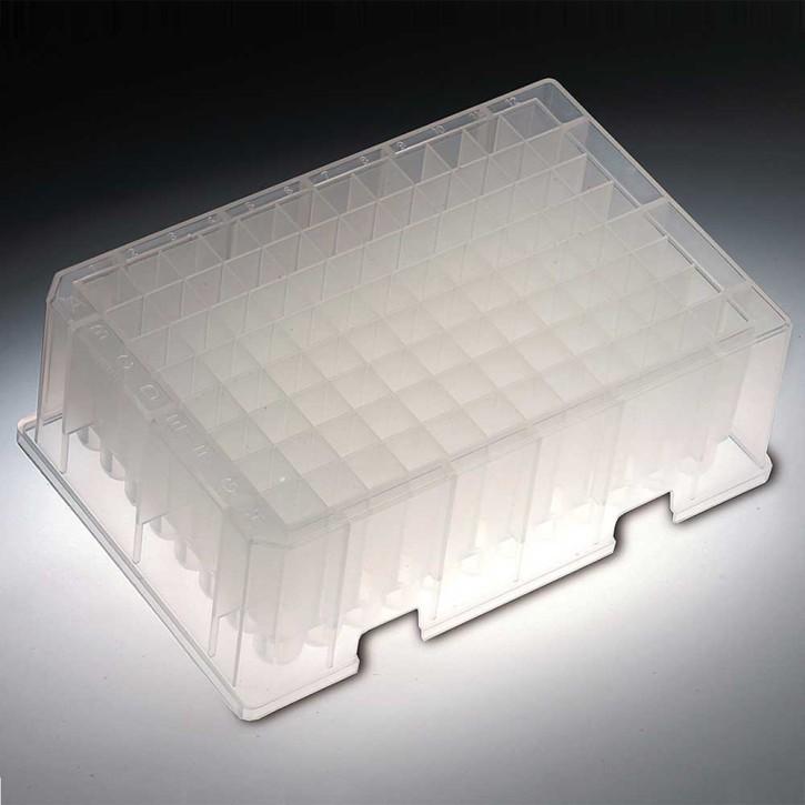 2.2ml, 96 Deep Well Plates Non-Sterile, (6x4p.)