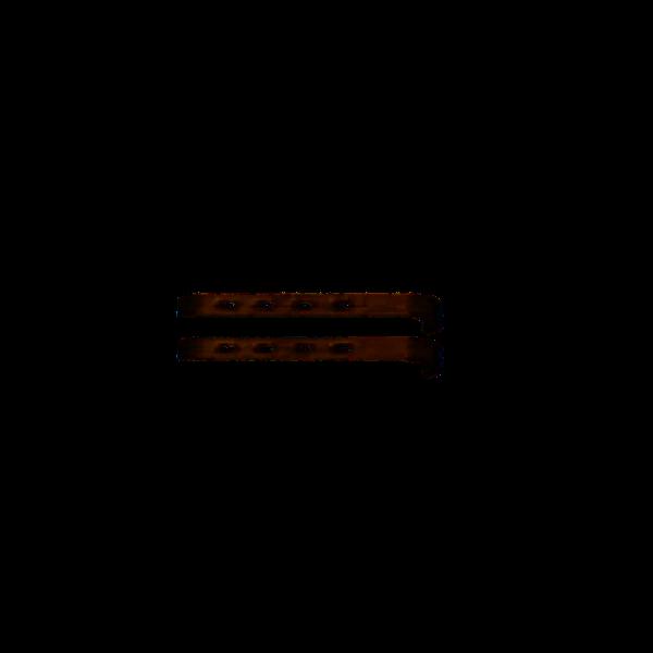 2 Retraktor-Valven 4 x 1 cm