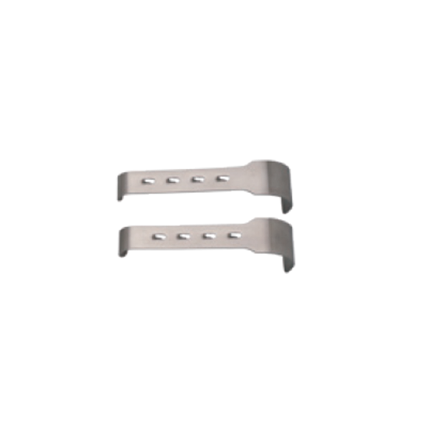2 Retraktor-Valven 4 x 3 cm