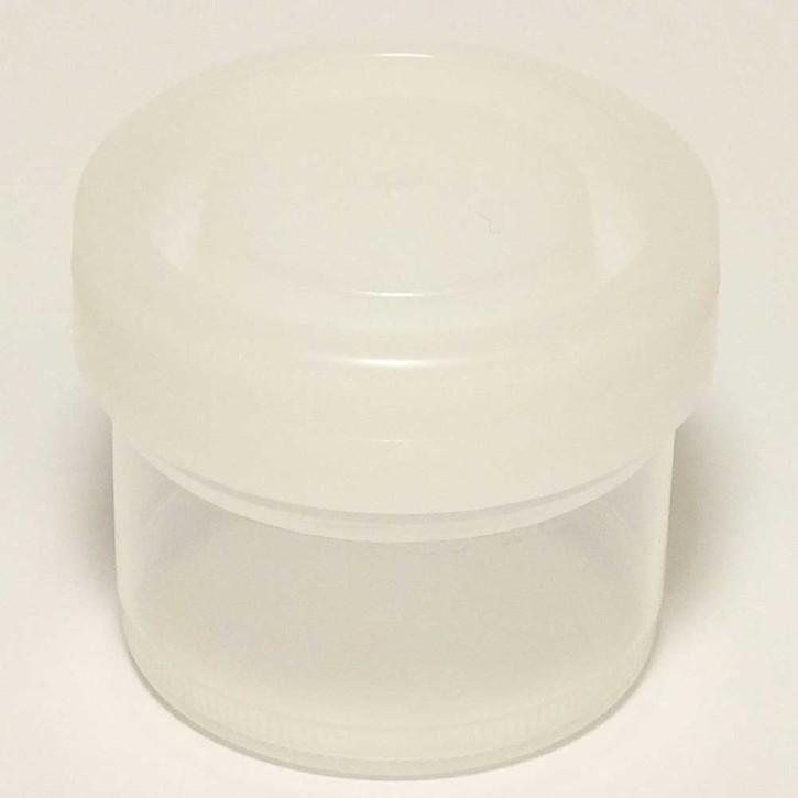 40ml Sample Container White Cap No Label Sterile (500p.)