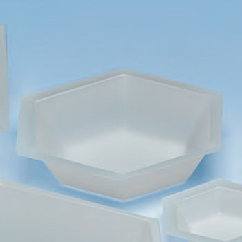 50ml Antistatic Weighing Dish, Hexagonal (500p.)