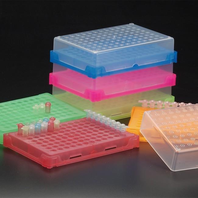 96-Well interlocking PCR Rack Assorted (5 p.)