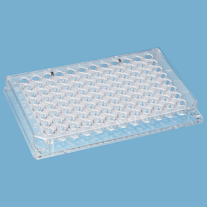 96 Well Microplate, V well Non-Sterile, (10x10p.)