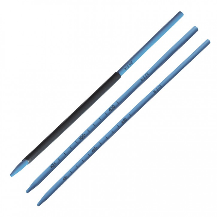 Amplatz Dilatatoren hydrophil CH28 30cm Röntgendicht