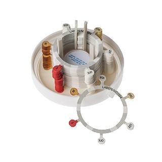 Antibiotika 6er-Ring - Staph-Ent-Strep (50 Stck) Design nach EUCAST 9.0