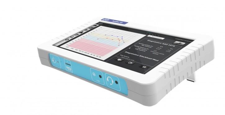 Audixi 10 Screening- Audiometer Reintonaudiometer, 2 Kanal, Luftleitung