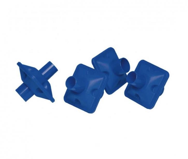 """Bakterien-Viren-Filter """"blau"""" Packung á 50 Stück"""