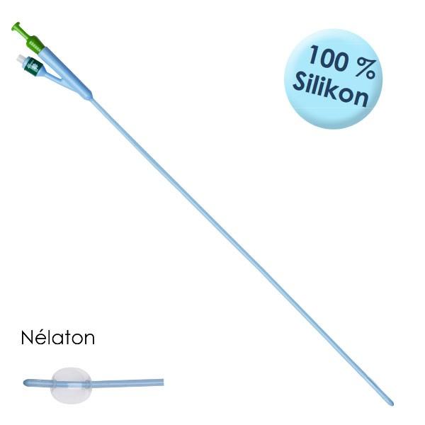 BlueStar® Ballonkatheter Nélaton Ch. 18