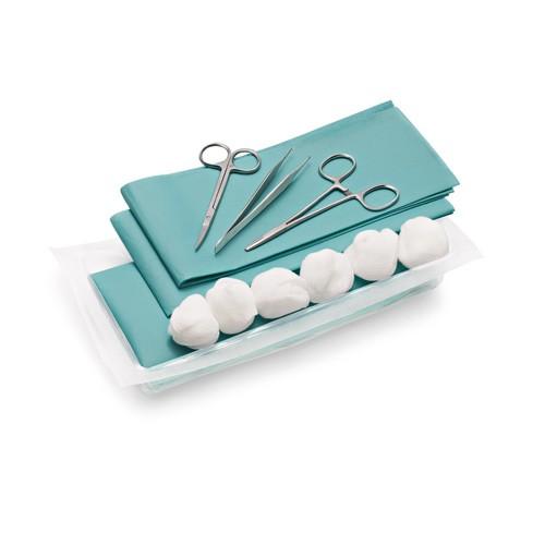 Chirurg. Wundversorgungsset II (6 Sets) Peha-instrument CombiSet
