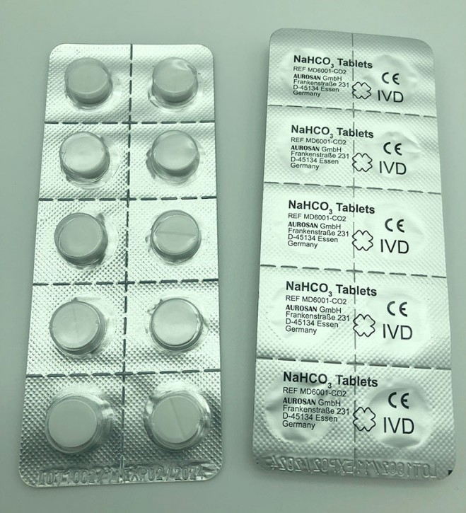 NaHCO3 tablets (blister of 10)