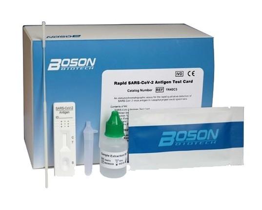 COVID-19 Antigen-Schnelltest (Boson; 20 Testkits) validiert gegen PCR