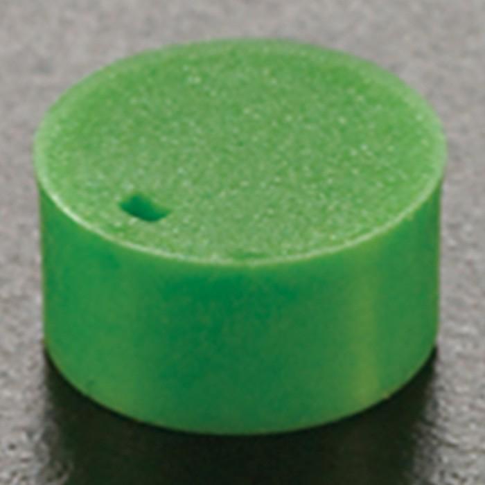 Cryogenic Vial Cap Inserts Green (500 p.)