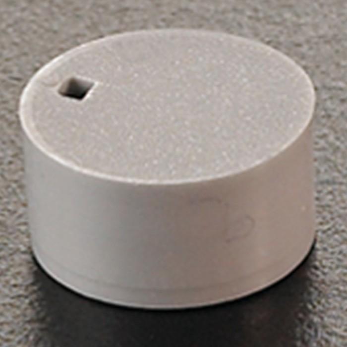 Cryogenic Vial Cap Inserts Grey (500 p.)
