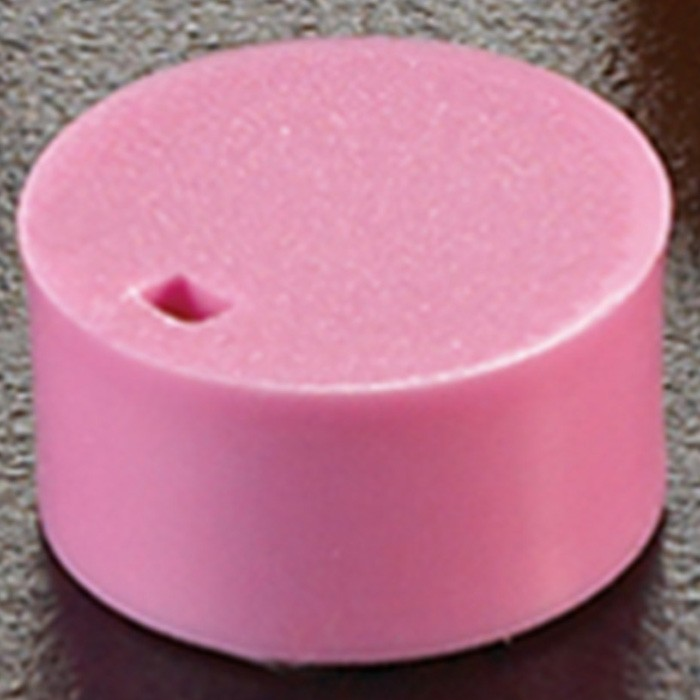 Cryogenic Vial Cap Inserts Pink (500 p.)