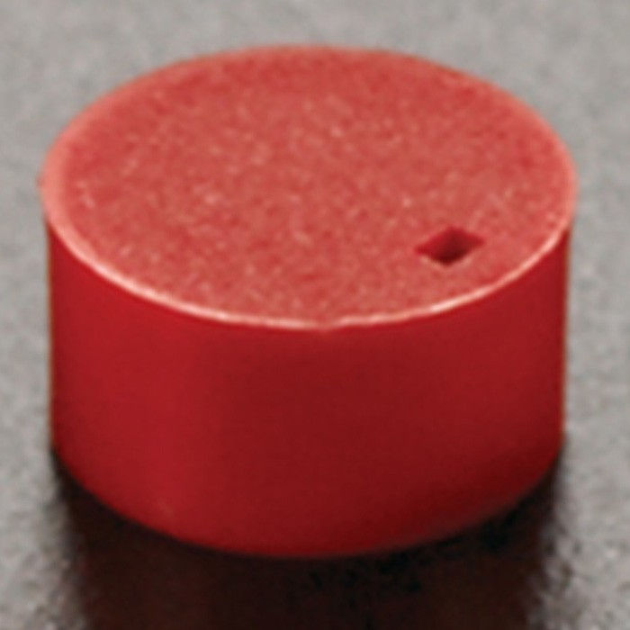 Cryogenic Vial Cap Inserts Red (500 p.)