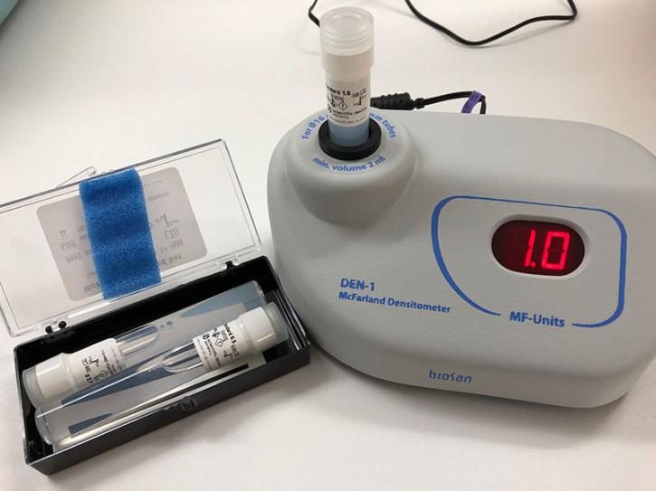 Densitometer DEN-1 biosan passend z.B. zum MICRONAUT Testsystem