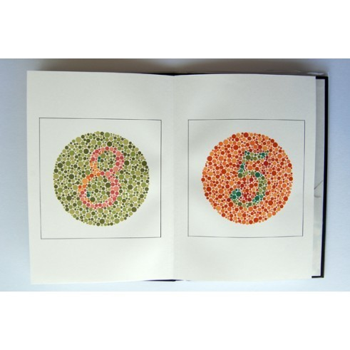 Color perception test plates for adults