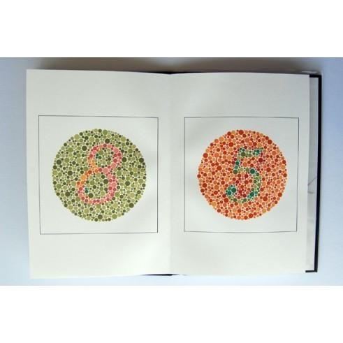 Farbtafeln nach Ishihara        14 verschiedene Tafeln