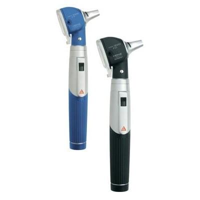 Heine mini3000 LED F.O. Otoskop, Batteriegriff, 4x Dauertip,5x AllSpec 2,5 u. 4mm