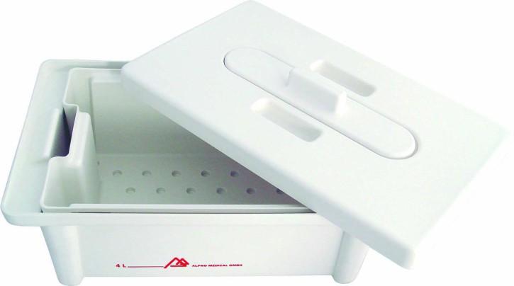 Instrumentendesinfektionswanne ( Inhalt 4L ) aus Kunststoff (Materialverträgl. BIB forte eco)
