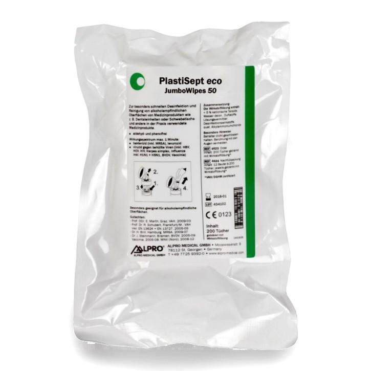 JumboWipes 50 (Karton 12 x 70 Tüchern, 21 x 26 cm) zur Oberflächenreinigung und -desinfektion