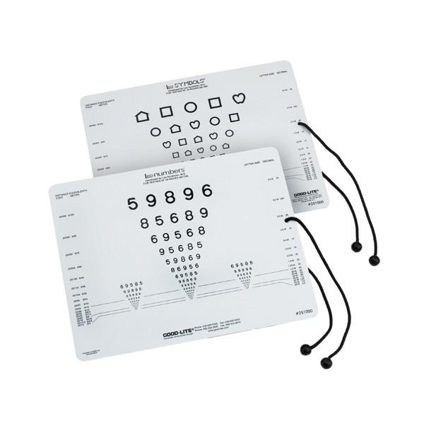 LEA near vision test charts