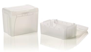 Leerboxen für Optifit Tip 1200µl (10 Boxen) passend zum MICRONAUT-System