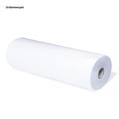 Liegenauflage 50cm x 50m, zweilagig, (9 Rollen) 100% Recycl. ungebleicht; weiss; 38 cm Perforation