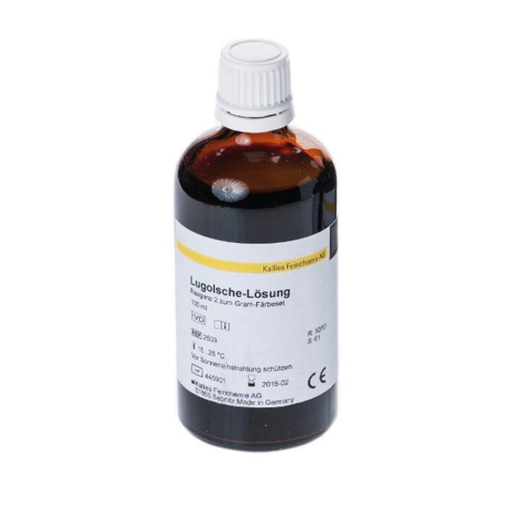 Lugolsche-Färbelösung 1 L für Gramfärbung