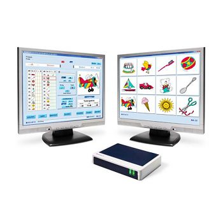 MA33 PC Screening Audiometer inkl. Pilotenhörtest LL-Hörer, Pat-Taste, Software