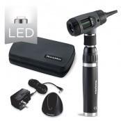 MacroView Set Otoskop LED 3,5V mit Rachenleuchte, Handgriff, Ladeschale, Etui