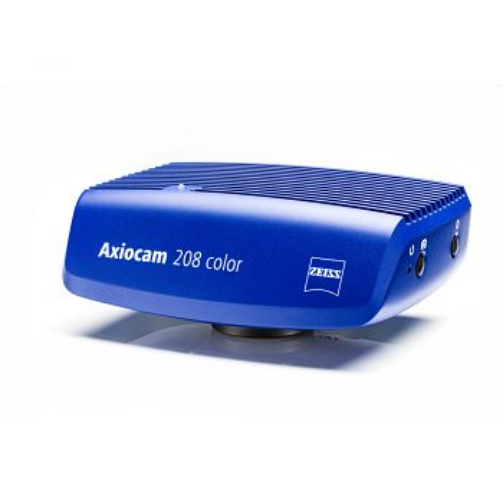 Mikroskop-Kamera ZEISS AxioCam 208 color 4kUltraHD inkl. Kameraadapter P95-C 0,5x