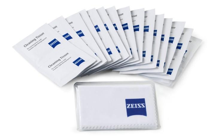 Mikroskop-Reinigungstücher Zeiss (20 Stck.) für wertvolle Optiken