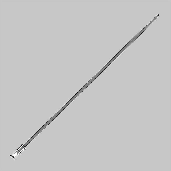 Nottingham One-Step Dilatator Schaft CH 12 Hydrophile, zur Dilatation des Ureters Kegel CH6-1