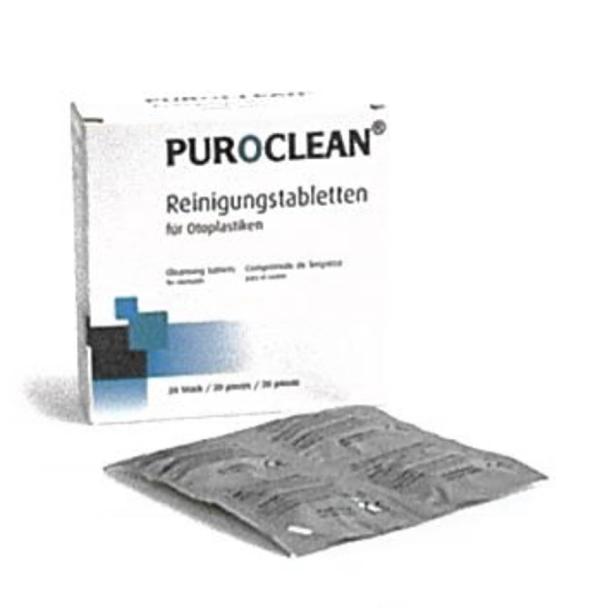 Ohrstöpselreiniger Puroclean (20 Tabs)