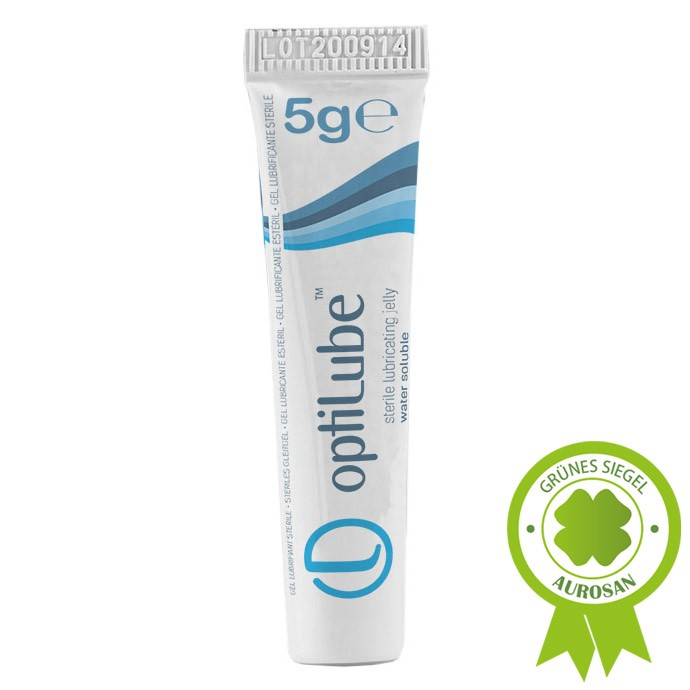 optiLube™ Tube 5g (48 Stck.) steriles Gleitgel