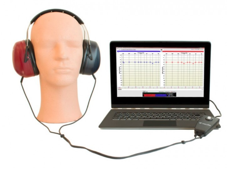 OSCILLA USB310 (100) Audiometer USB Audiometer, LH DD65, Software AudioConsole