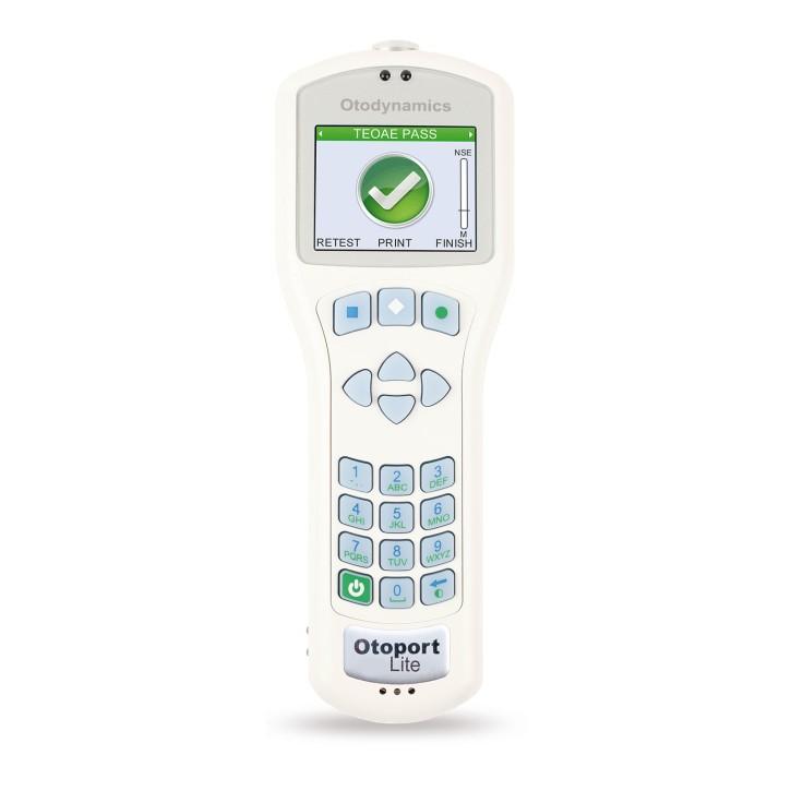 Otoport Lite Colour TEOAE, mit Tasche, Netzteil, Sonde und Stöpsel-Box, Software
