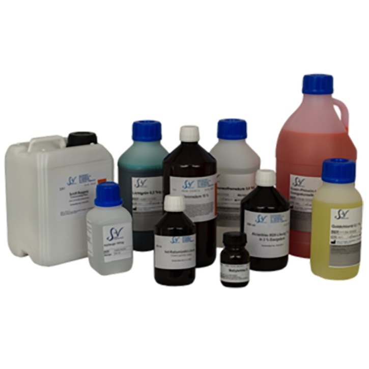 Papanicolaou Färbeset -3 Lsg á 0.5L & Ethanol 0.5L