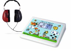Pilotenhörtest LH DD65 V2 Farbdisplay Ton- u. Sprachscreening / inkl. 14 Sprachen