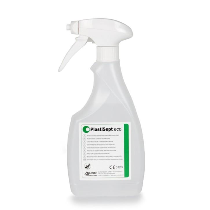 PlastiSept eco (500 ml Sprühschaum-Flasche) zur Oberflächenreinigung und -desinfektion