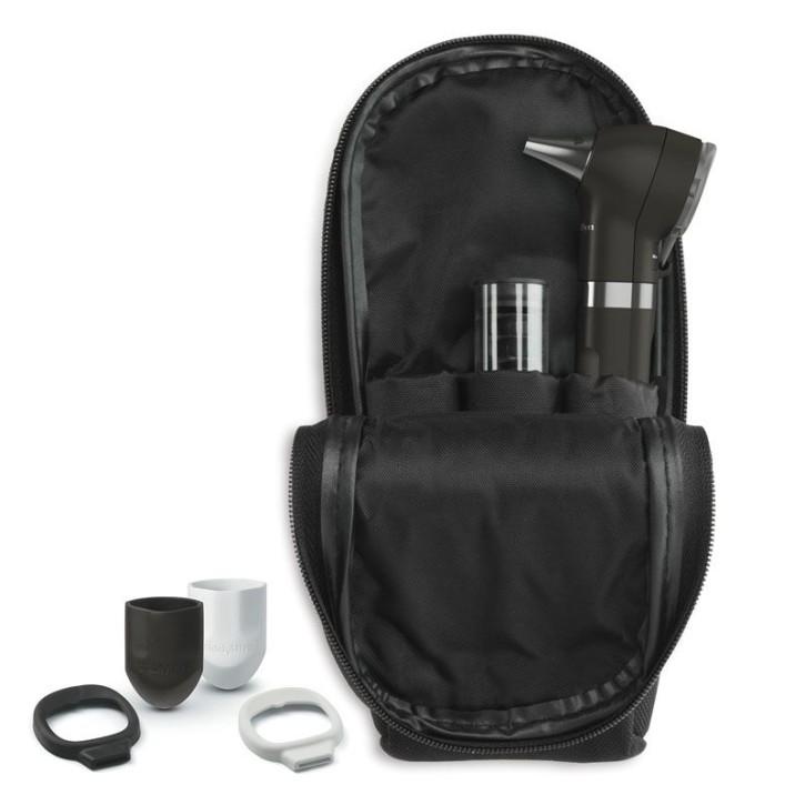 Pocket PLUS LED Otoskop schwarz mit AA Griff Welch Allyn