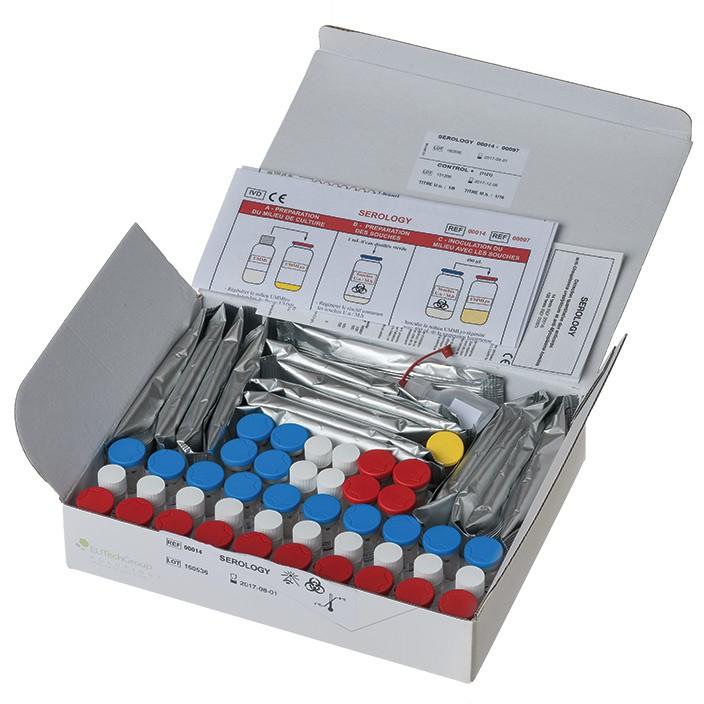 Myco-Serology®-14 zur anti-Mycoplasma-Ak Titerbestimmung im Serum