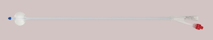 Silikonelastomer TUKath CH26, 40cm, Nel (5-10ml) Marflow, blau, Longlife, Integralballon