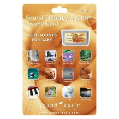 Sound Oasis SoundCard SC300-05  für S-650 Sleep Sounds for Baby