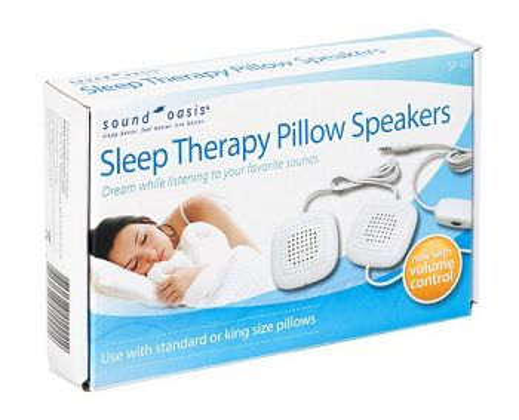 SP-101 SoundOasis Schlaftherapie Kissenlautsprecher mit Lautstärkereglung