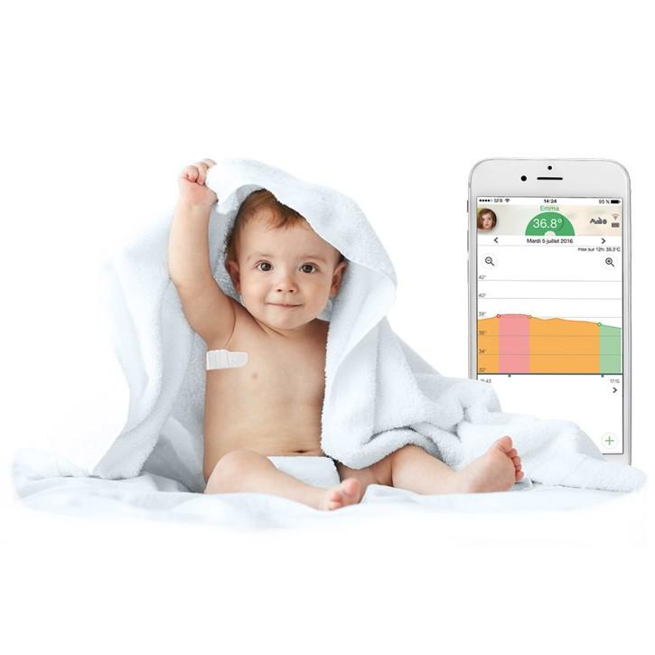 Tucky smartes Thermometer mit App zur kontinuierlichen Messung aus der Distanz