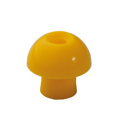 Tympstöpsel 12mm gelb